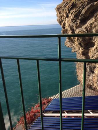 Trattoria Gianni Franzi: Amazing view