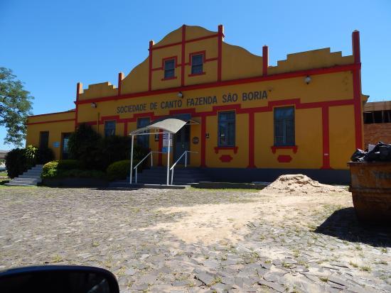 Restaurante Fazenda Sao Borja: Pela manhã, ainda cedo