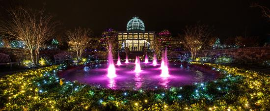 Holiday Lights at Lewis Ginter Botanical Gardens, Richmond - Picture ...