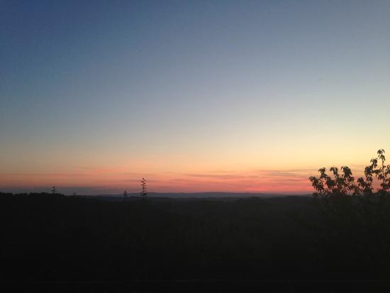Rifugium: Sunset from room