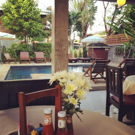 Buri Gallery House: View from the breakfast table