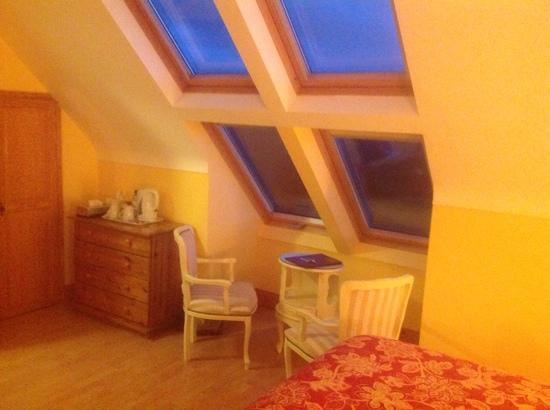 Eas Dun Lodge: fab room!
