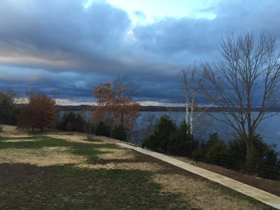 Table Rock Lake: View from visitor center