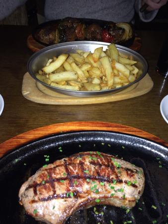 La Brasseria: Amazing steak but really pricy for what you get!!!