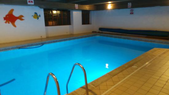 Pitt Farm Holiday Cottages: The Heated Indoor Pool