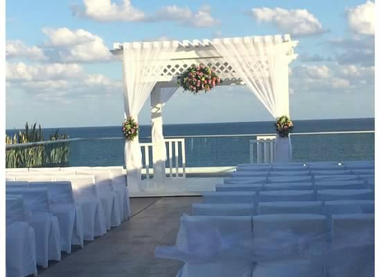 Azul Beach Resort Tui Sensatori Riviera Cancun Sky Wedding Ceremony E