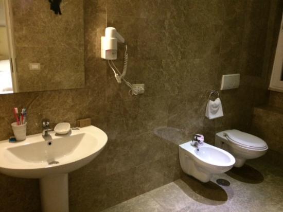 Hotel Roma Vaticano: Baño