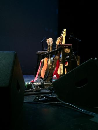 The Granada Theatre: Christopher Cross' guitars