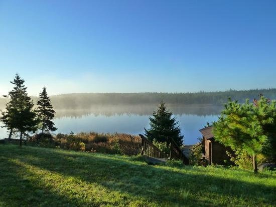 A B&B by the River: Morning on the River