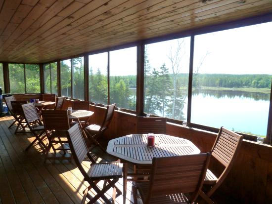 A B&B by the River: Porch