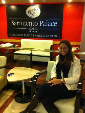 Sarmiento Palace Hotel: Hall de entrada