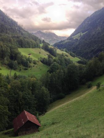 Gasthaus und Chalet Paxmontana: Trail, less than 5 minutes from the guesthouse