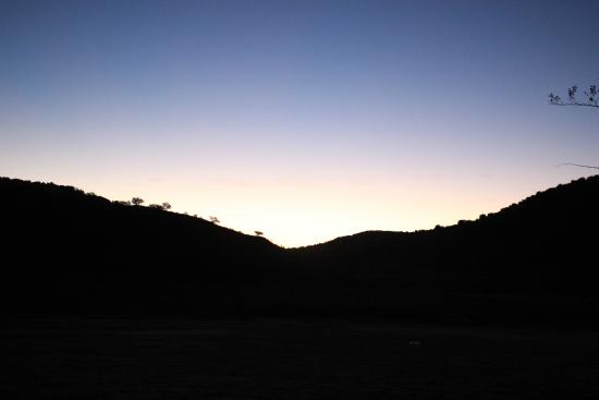 Sunrise at Prude Ranch