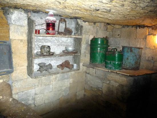Catacombs of Odessa: кухня