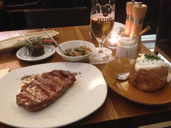 Estancia Steaks : Repas du soir