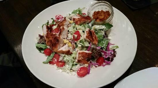 Twisted Cobb Salad Picture of Jack Allens Kitchen Round Rock