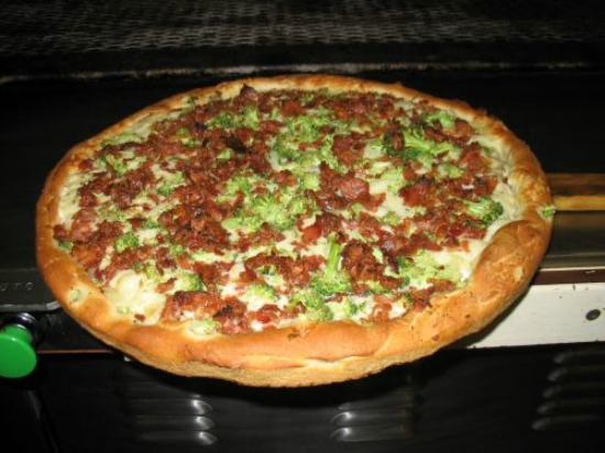 Willington, CT: Our famous Red Potato Pizza