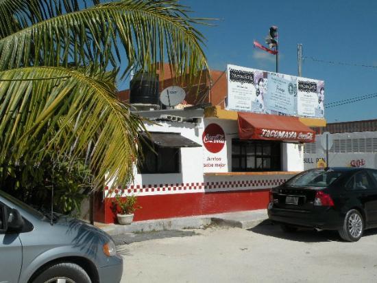 Tacomaya: The restaurant