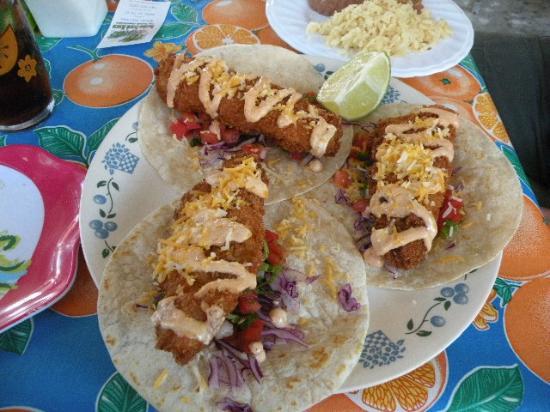 Tacomaya: Fish TACOS- goin back for more!!