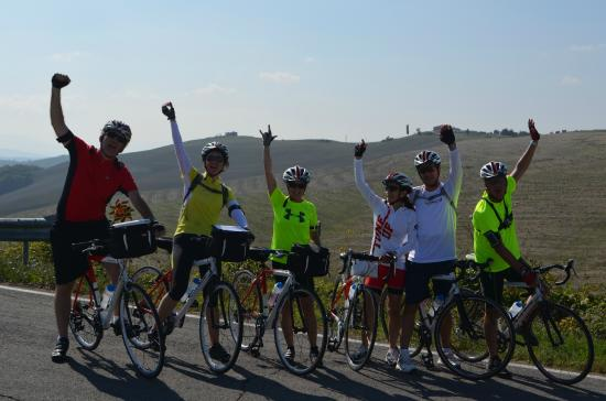 Cicloposse : Great experience in the Toscany