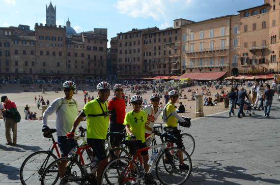 Cicloposse : Wonderful places like Siena in the Toscany