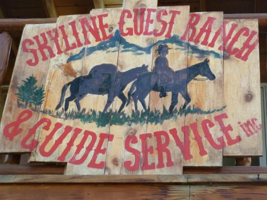 Skyline Guest Ranch and Guide Service: Skyline Guest Ranch