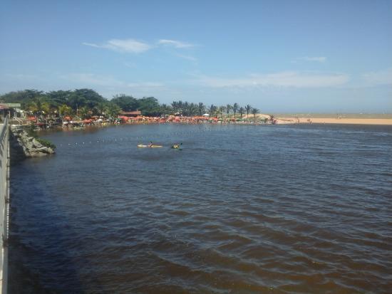 Praia do Siri : vista da lagoa.