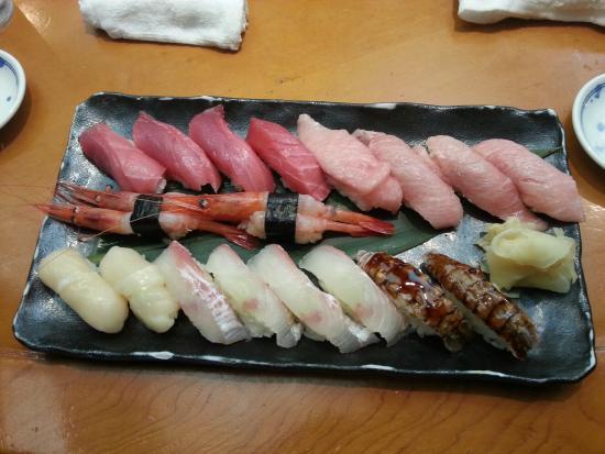 Mikorezushi: Sushi plate