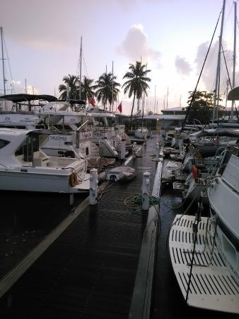 Virgin Motor Yachts: H Dock at Nanny Cay