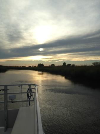 Darien River Wine and ECO Cruise: Sunset Cruise with Captain Phillip