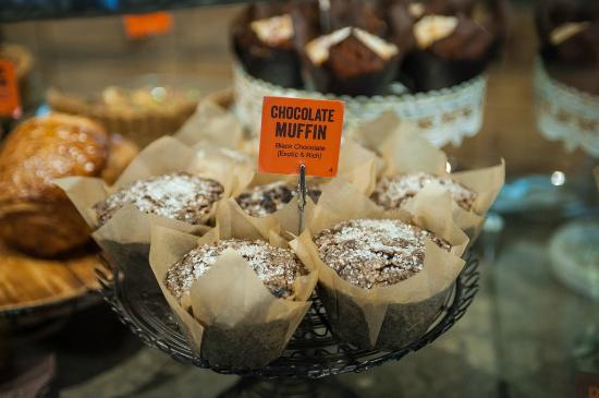 Brown Bear Baking : The Chocolate Muffin - our favorite!