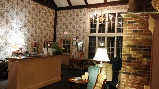 West Chesterfield, Nueva Hampshire: Lobby Reception
