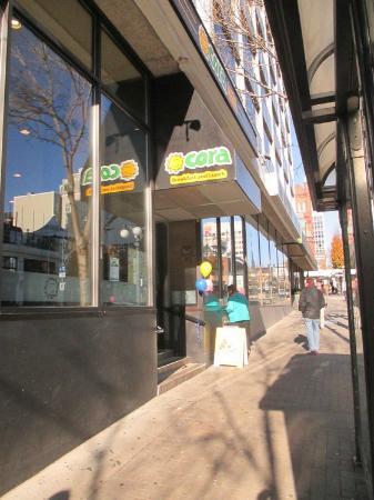 Sidewalk Entrance