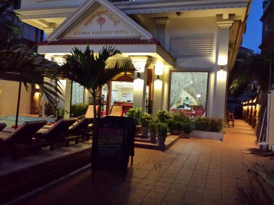 Hotel 20th Street: romantic entrange