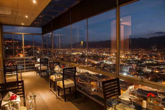 Wyndham Cusco Saqsayhuaman: Restaurant balcony