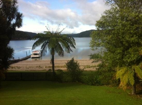 Lakes Lodge Okataina: view from room