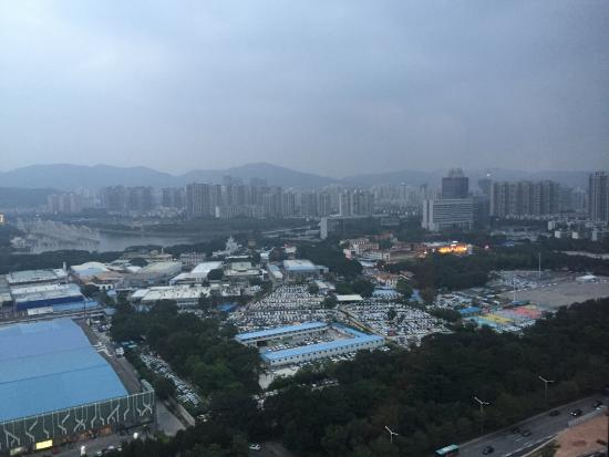 JW Marriott Hotel Shenzhen: View from my room