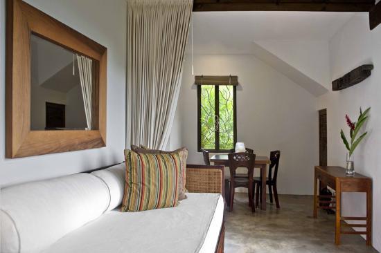 Casa Frangipani: Living Area