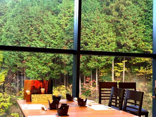Iyoyakano Sato: レストランからの景色です。