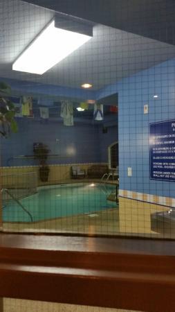 Days Inn & Suites Brandon: Pool area, Days Inn & Suites - Brandon  |  2130 Currie Blvd., Brandon, Manitoba R7B 4E7, Canada