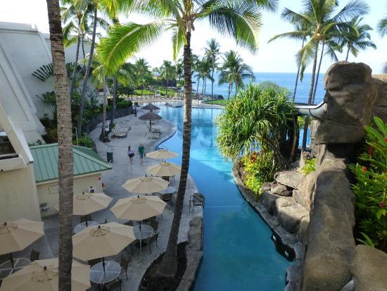 Sheraton Kona Resort Spa At Keauhou Bay From Partial Ocean View Room
