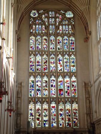 Paradise House B&B : Bath Cathedral Stain Glass Window