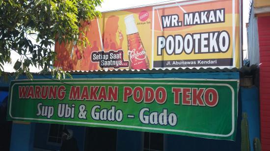 Warung Makan Podo Teko