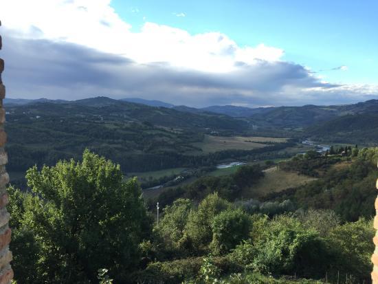 Bellaugello: view from Diva room