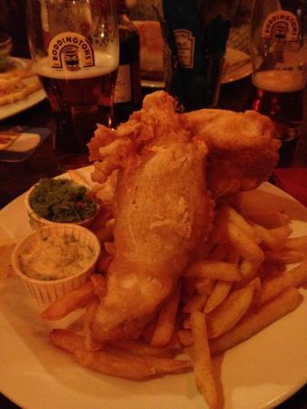The Top Pub: Best Fish 'n Chips in Switzerland