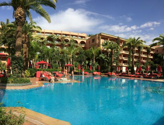 Piscine Picture Of Hotel Sofitel Marrakech Palais Imperial