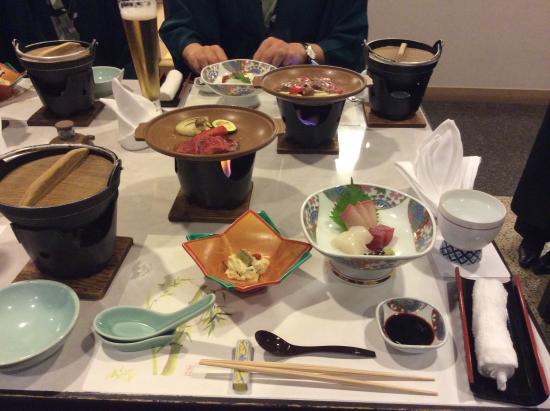 Kijima Kogen Hotel: 夕食