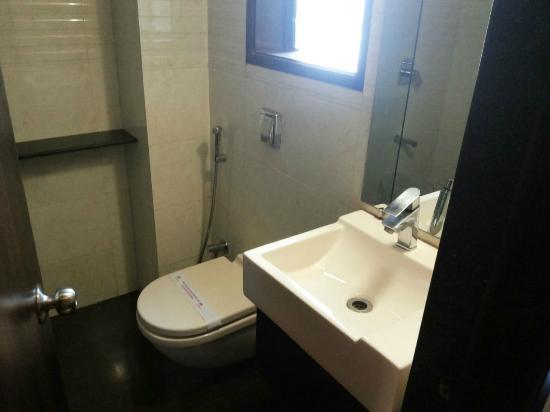Hotel Le Grande : Clean Toilet