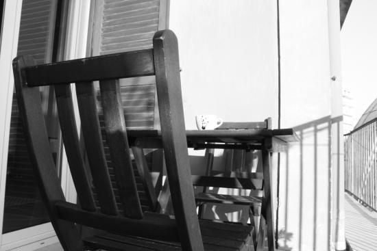 B&B Casamone : Coffee on the terrace