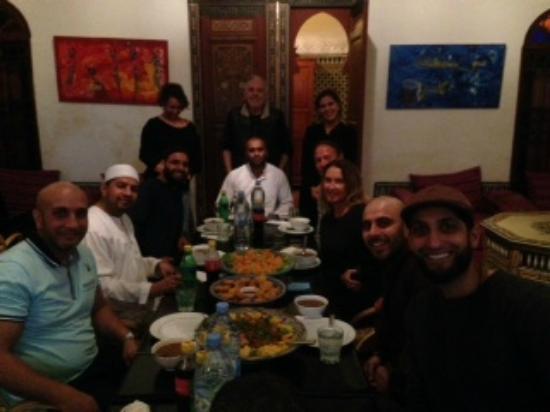 Dar Iman : Hotel Dining area